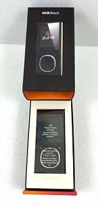 Microsoft Zune 4 Black ( 4 GB ) Digital Media Player MP3 Player New In Box