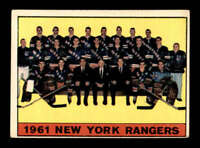 1961 Topps #63 Rangers Team Picture  VGEX X1502853