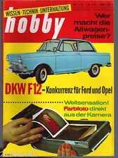 HOBBY -  1963 / 3 /(AUDI) DKW F12, Gebrauchtwagenpreise, Color-POLAROID, DAF 750