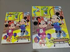 Disney Mickey and Minnie Mouse Puzzle 100 pcs Golden 1986