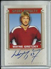 Wayne Gretzky 2014 Goodwin Champions Sport Royalty Autograph