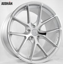 19X8.5 AodHan LS007 5X112 +30 Silver Wheels Fits Passat Phaeton Tiguan CC