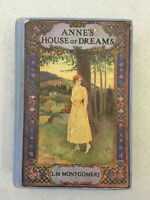 Anne's House of Dreams by L.M. Montgomery 1917 1st Edition HC Missing Pages