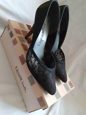 Black Heels Lacey - QualiCraft. Size 7. Used. Vintage