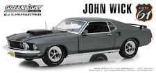 Highway 61 1:18 John Wick 2014 1969 Ford Mustang BOSS 429 Grey Diecast Car 18016