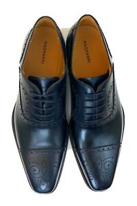 Magnanni Black santiago Cap Toe Oxford Dress Shoes (Size: 10 M)