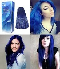 Berina A41 BLUE CRAZY FASHIONS PUNK STYLE Permanent Color Hair Dye Cream