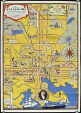Maryland Baltimore / I Welcome you to Baltimore Mayor Jackson Map title Map