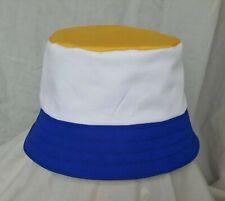 New Leeds United style bucket hat. 1990's football casuals. SZ L. Retro. LUFC