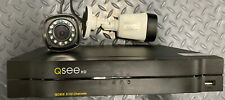 Q SEE security camera 8 HD Channels With EXTRA Cables DVR And 2 Cameras QC 958