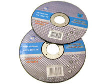 10 x 4-1/2 Inch 115mm Stainless Steel Cut Off Discs Blades - FREE POSTAGE