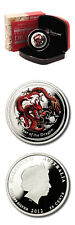 Australia Year of the Dragon 1/2 oz 2012 Proof Colored Silver Coin Perth Mint Ca