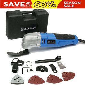 Electric Heavy Duty Corded Variable Speed Oscillating Sander Cutter Multi-Tool