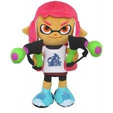New Sanei Splatoon 2 All Star SP26 Inkling Girl (Neon Pink) Stuffed Plush Doll