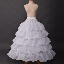Gothic Lolita 4 Hoop Falbala Petticoat Underskirt Medieval Victorian Fancy Ball