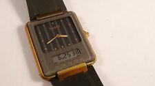TISSOT TwoTimer LCD Quartz watch