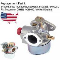 USA Carburetor For Tecumseh 640025 Go Kart 5 5.5 6 6.5 HP OHV HOR Engine Carb