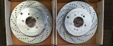 Stoptech Select Drilled/Slotted Front Rotors Fits Scion FRS/Subaru BRZ
