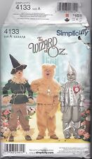 Simplicity 4133 Childs Costumes Pattern UNCUT A3-8 Wizard of Oz