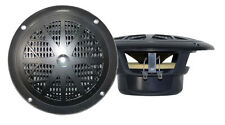 Pair New Pyle PLMR41B 4'' Dual Cone Waterproof Stereo Speaker System Kit