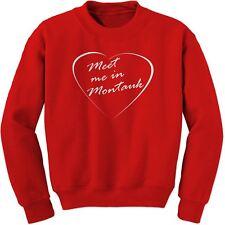 Meet Me in Montauk Eternal Sunshine Words of love Sweatshirt