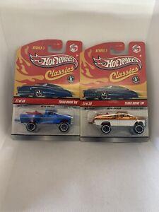 Hot Wheels Classics Series 5 #27/30 Texas Drive 'Em in Blue And Orange 2008 Lot