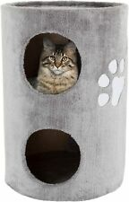 """New listing Petmaker Cat Condo 2 Story Double Hole with Scratching Surface, 14"""" x 20.5"""","""