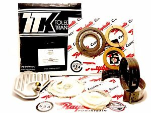 4R70W 4R75W TRANSMISSION Master REBUILD KIT 1996-2003 Clutches 2 Lined Bands