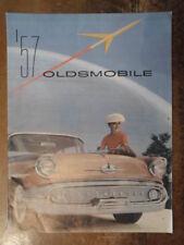 OLDSMOBILE orig 1957 USA Mkt Large Prestige Brochure - Super 88 Golden Rocket
