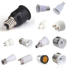Lampensockel Leuchtmittel Adapter Fassung Socket LED GU10 E27 G9 E14 T8 B22 E12