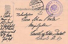 Nr.18193 Feldpostkarte K.u.K. Landesschützenregiment BOZEN 1915 Südtirol Italien