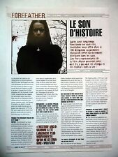 COUPURE DE PRESSE-CLIPPING :  FOREFATHER  07/2004 Wulfstan,Ours Is The Kingdom