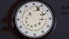 2 euro 2017 Fs proof BE PP SLOVENIA Slovenija Slovenie Slowenien Словения 10