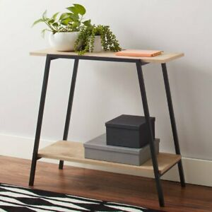 ✅ Mainstays Conrad Console Table Assorted Colors ( Black ) ✅