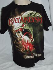 Kataklysm Heaven's Venom 2010 Concert T Shirt Metal Men's Large L