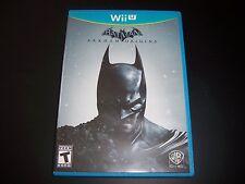 Replacement Case (NO GAME) Batman Arkham Origins NINTENDO WII U 100% Original