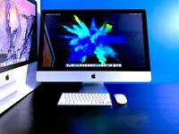 EXCELLENT Apple iMac 27 inch Desktop 3.7GHZ QUAD CORE / 16GB / OS2017 / WARRANTY