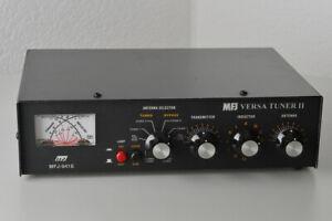 MFJ-941E Antennentuner, Kreuzzeiger, 2xCoax + symmetrisch, 300W PEP
