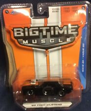 NEW 2015 JADA Big Time Muscle Series  *65' FORD MUSTANG*  Black  Wave 20