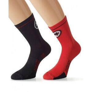 Assos Equipe Sock Evo7 Size 0 EU 35-38 National Red Brand New