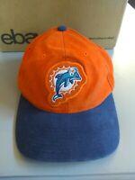 Vintage Miami Dolphins Starter Pro Line Adjustable Strapback Hat Cap Orange Navy