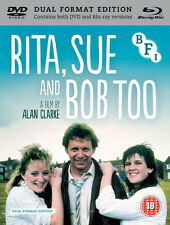 Rita Sue and Bob Too Blu-ray DVD Booklet 1987 1st Class Delivery