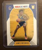 2020-21 Panini NBA Hoops James Wiseman #205 RC Base Golden State Warriors