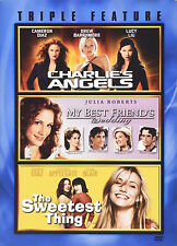 Charlie's Angels My Best Friend's Wedding Sweetest NEW Diaz Triple Feature 3 DVD