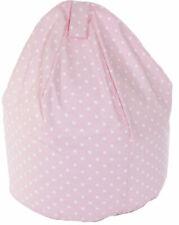 Bean Lazy Pink Polka Dot Bean Bag - Child Size
