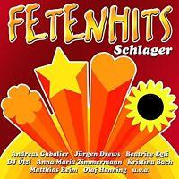 "FETENHITS-SCHLAGER (u.a""Jürgen Drews"", ""Olaf Henning"")  CD NEU"