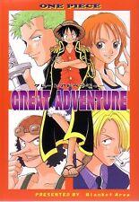 """ONE PIECE YAOI Doujinshi """" GREAT ADVENTURE """" Luffy Zoro Shanks"""