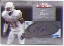 aaron ross rookie rc auto autograph giants longhorns #/50 college