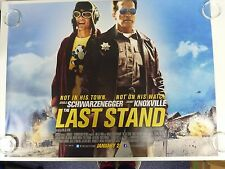 The Last Stand Arnold Schwarzenegger Acción Cartel De Película Quad 76x102cm