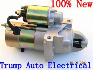 """Starter Motor for Chevrolet Small Block Big Block V8 11"""" 168 teeth flywheel 5.7L"""